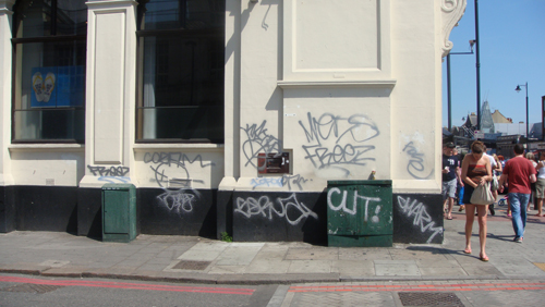 Graffiti on Venn Street