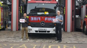 Clapham Labour Councillors were first to expose Tory Mayor Boris Johnsons plans to close Clapham Fire Station