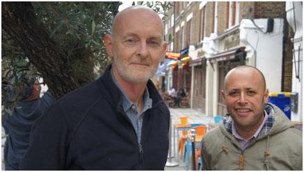 Nigel Haselden and Christopher Wellbelove