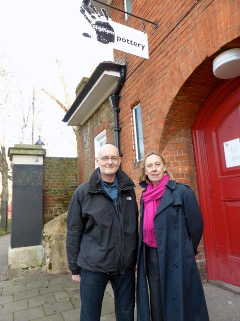 Nigel Haselden and Linda Bray